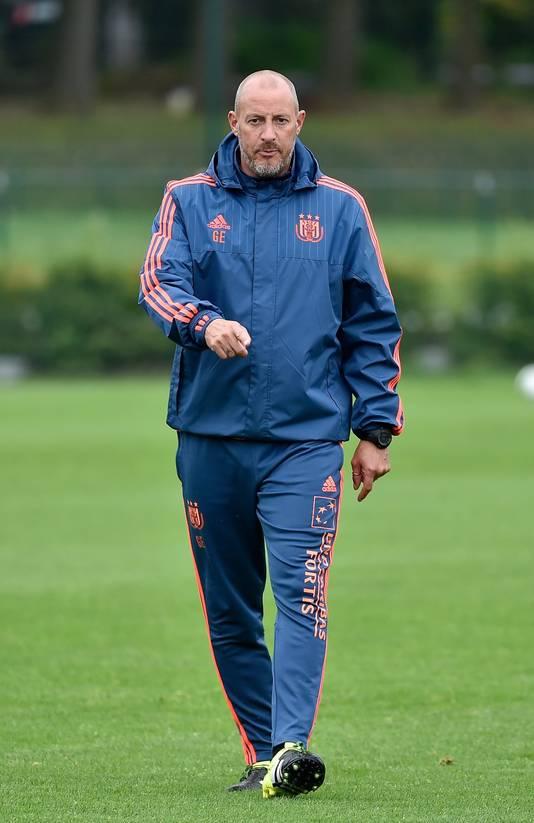 Geert Emmerechts, le T2 du Sporting Anderlecht.