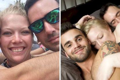 """Cait heeft relatie met vriend én zijn wettelijke echtgenoot: """"Elk kind zou toch gelukkig zijn met drie ouders?"""""""