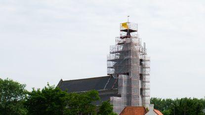 Restauratie kerk in Spiere aangevat