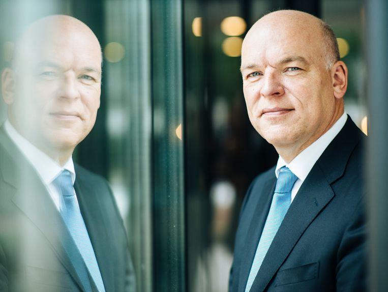 Bij- en omscholing worden belangrijker, bedrijven zien dat ook in, zegt NCOI-eigenaar Robert van Zanten. 'Mensen kunnen niet meer teren op wat ze vijftig jaar geleden hebben geleerd.' Beeld Pim Geerts