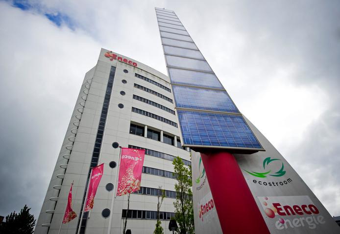 Het hoofdkantoor van Eneco is één van de duurzaamste van Nederland. Het gebouw bij Rotterdam Alexander is bedekt met zonnepanelen en ook deels met klimopplanten.