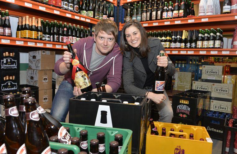 Ben Luyten en Griet Baelus starten een Belgische bierwebsite.