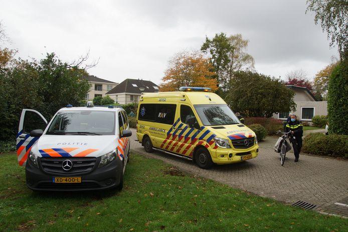Gewonde bij ongeval in Kaatsheuvel.