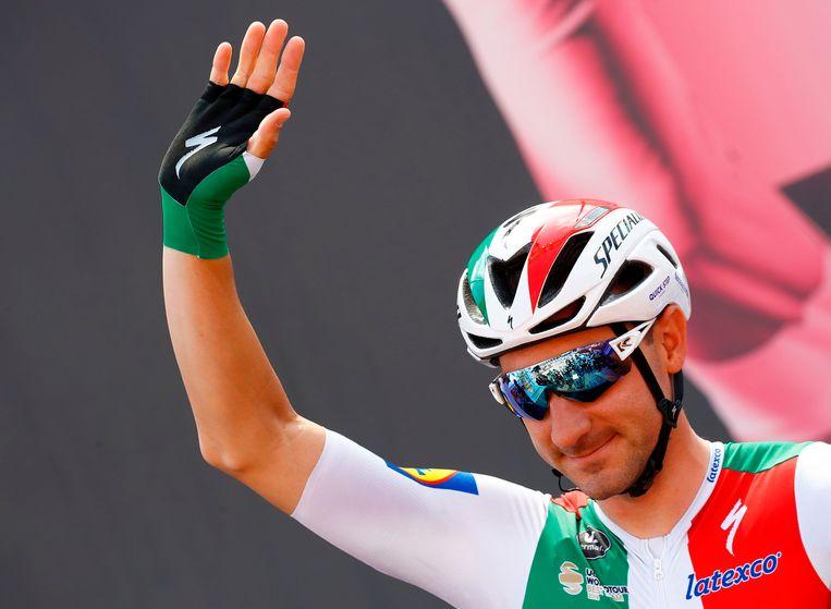 Elia Viviani zal voor de laatste keer zijn Italiaanse kampioenentrui showen in de Ronde van Zwitserland.