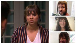 'Thuis'-collega's wuiven Olivia uit (en onthullen daarmee een geheim)
