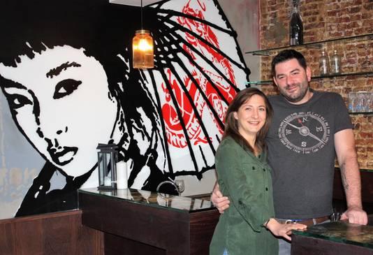 Danielle Peel en Charly Vandenheede openen vrijdag hun hippe bar Streat.
