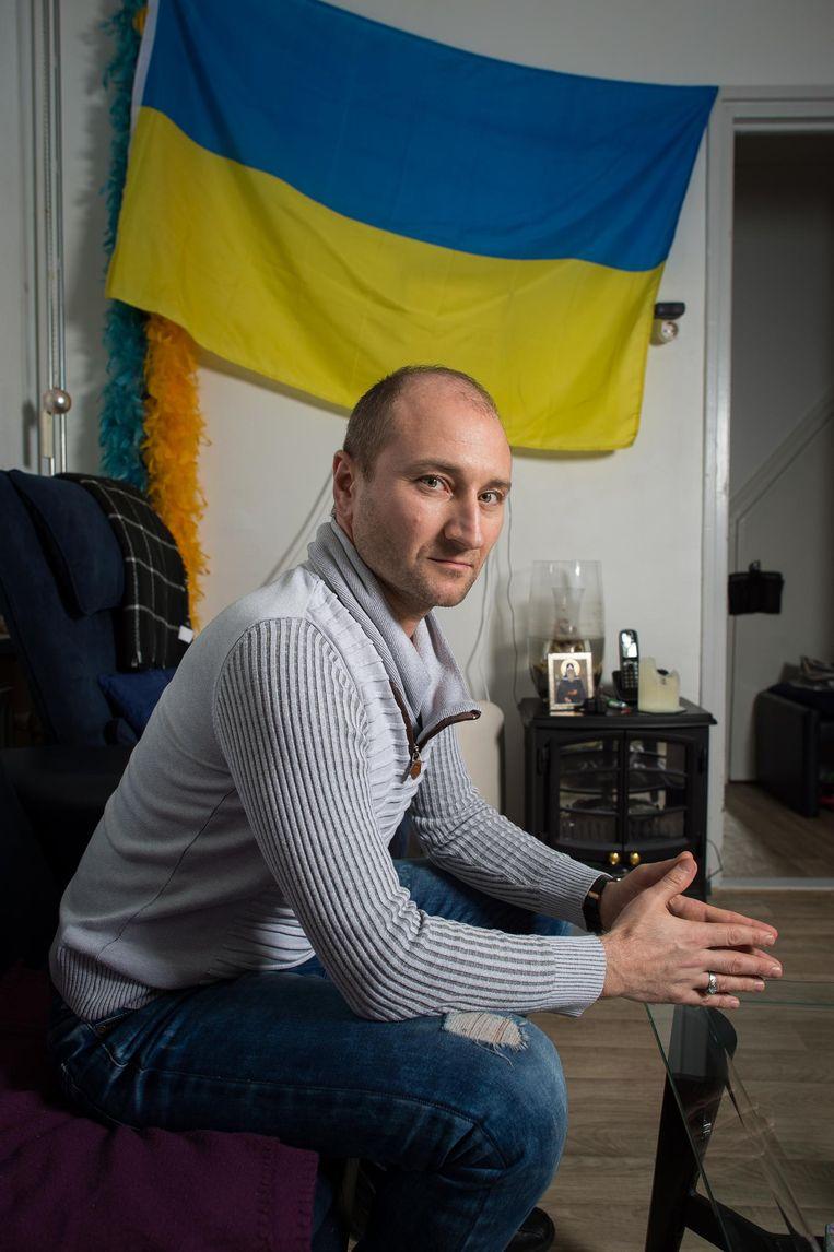 Roman Zuiev: 'Het is een keuze: koelen of koken' Beeld Mats van Soolingen