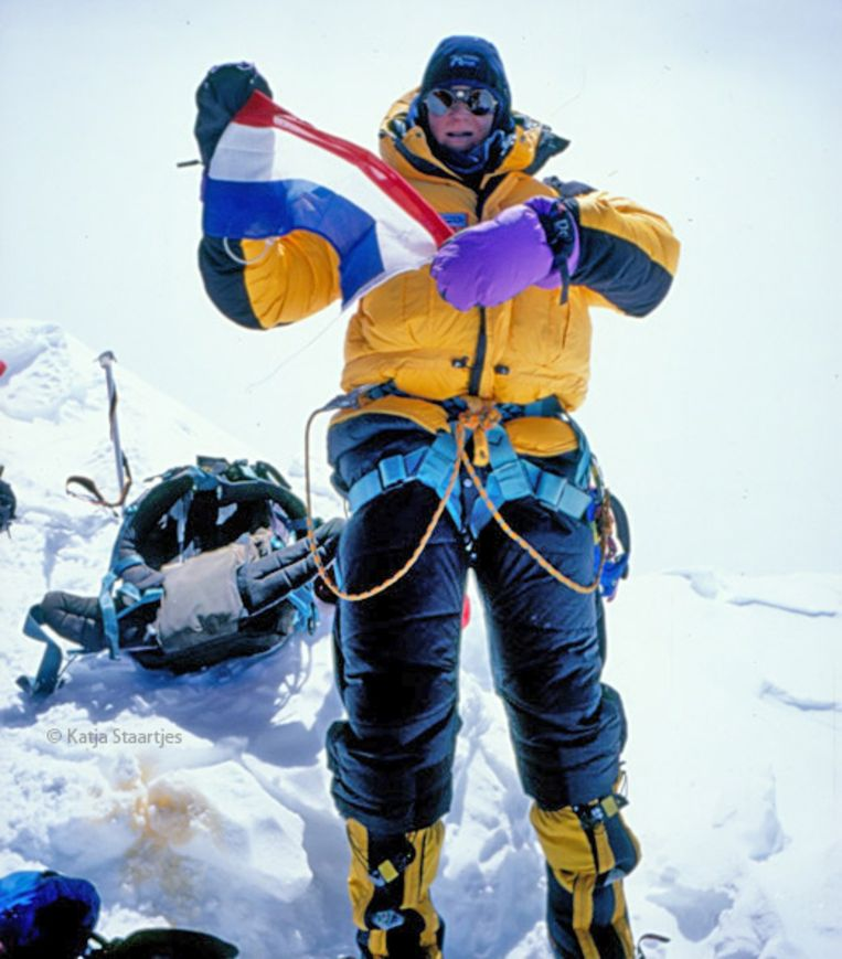 Katja Staartjes, Everest 1999. Beeld Katja Staartjes