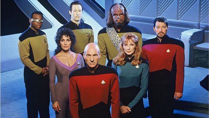 Voilà qui n'est pas sans rappeler Star Trek.