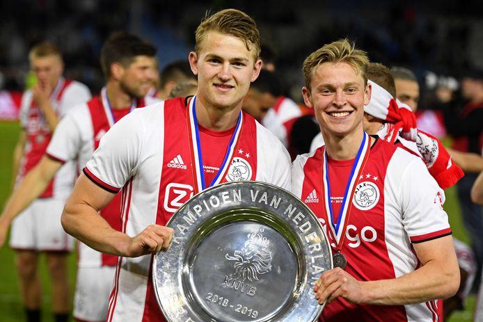 Frenkie de Jong en Matthijs de Ligt.