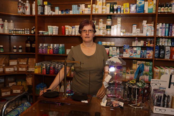 Liesbeth van der Linden was jarenlang 'getrouwd' met haar winkel, maar neemt nu noodgedwongen afscheid.