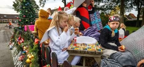 Willemsoord houdt onstuimig dorpsfeest: wind, regen en spelen
