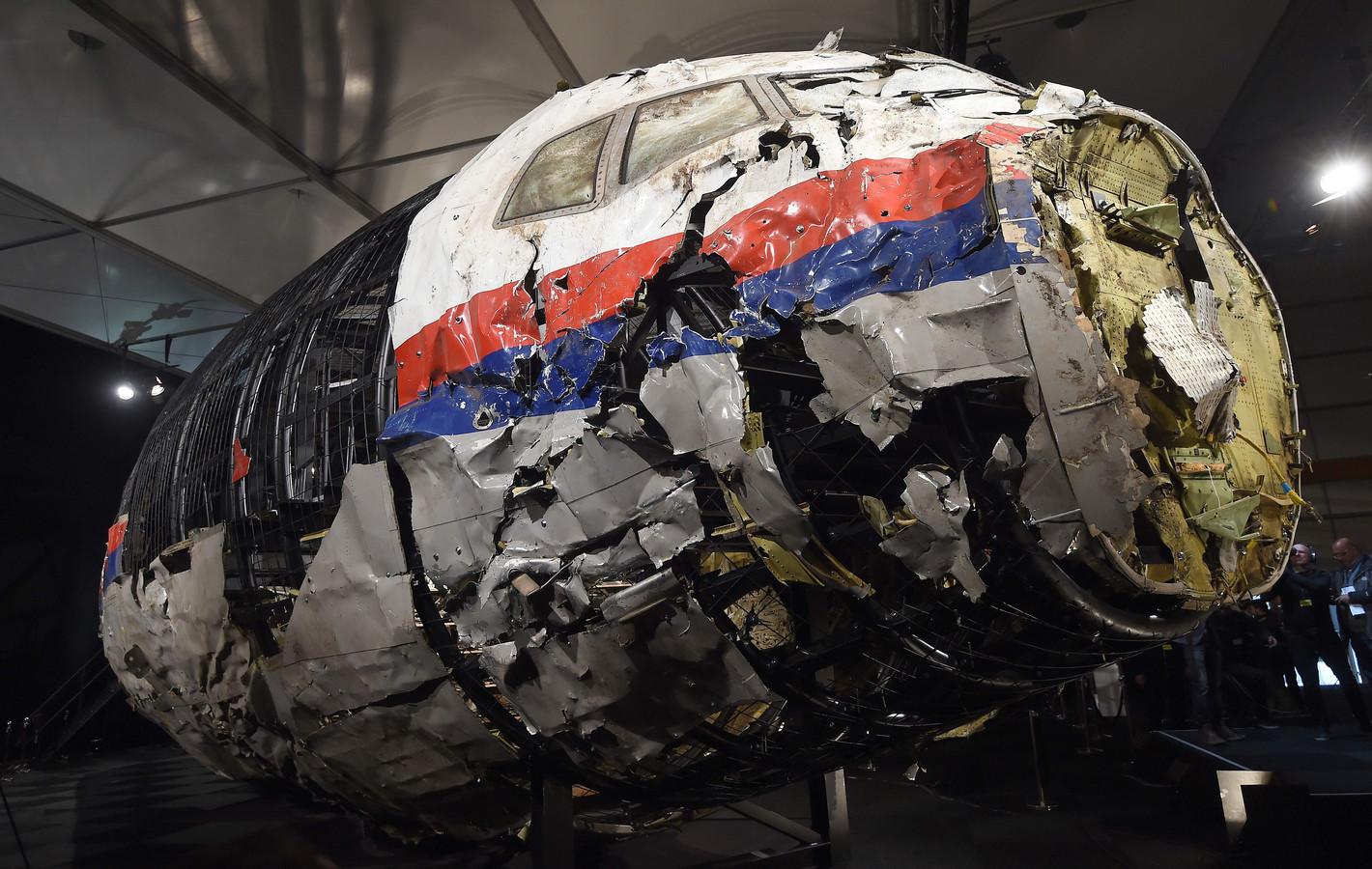 De cockpit van de MH17.