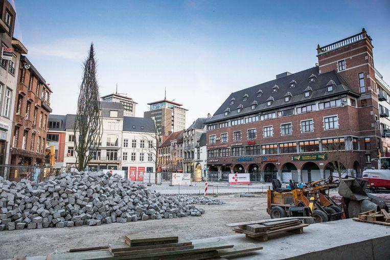 Grote Markt in Hasselt.