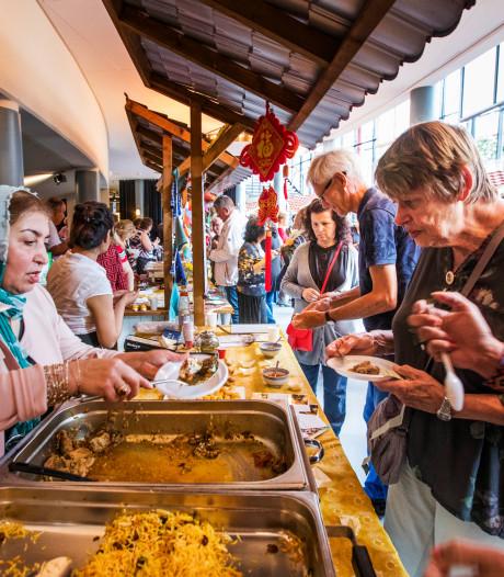 Regen mocht de pret bij World Food & Film Festival niet drukken