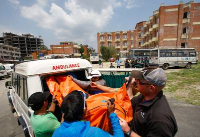 11 morts et 27 disparus dans un éboulement au Népal