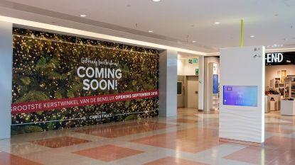 2.400 vierkante meter aan kerstspullen in Wijnegem Shopping Center