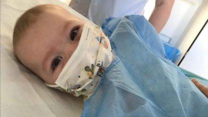 """Baby Victor gratis behandeld met Zolgensma: """"Fantastisch, ingezameld geld zal nog altijd goed gebruikt worden"""""""