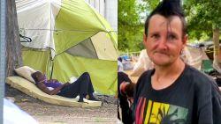Publieke parken overspoeld met daklozen ten gevolge van coronavirus