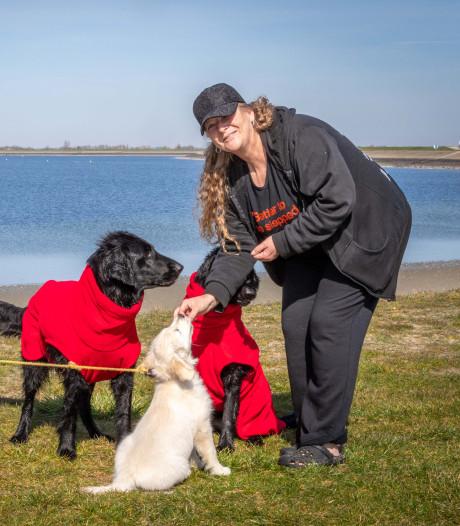 Stefan en Desiree bij de Oesterdam: 'Met zo'n pup vergeten mensen nog wel eens afstand te houden'
