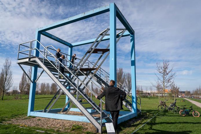 'Framewerk' van Pjotr Muller in Elst is ook populair bij kinderen.