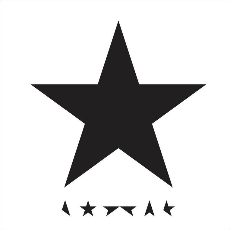 De CD-hoes van Blackstar Beeld David Bowie