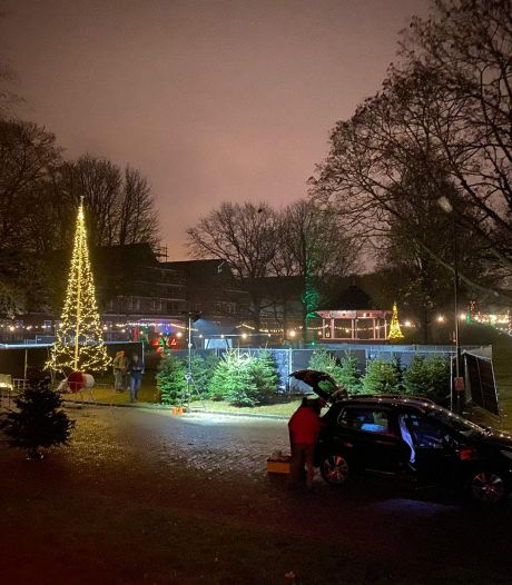 'Piek-up' je kerstboom op Fort Isabella in Vught: 'Coronaproof én gezellig'