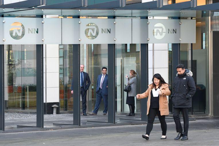 Kantoor van de NN Group in Den Haag. Beeld Hollandse Hoogte / Peter Hilz