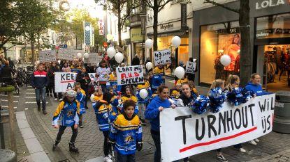 """250 mensen betogen voor schaatsbaan, Stad Turnhout buigt niet: """"We kunnen geen precedent scheppen"""""""