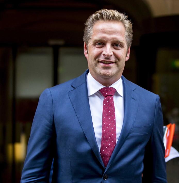 Minister Hugo de Jong foto Jerry Lampen/ANP