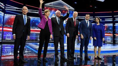Democraten weer in debat voorafgaand aan Super Tuesday