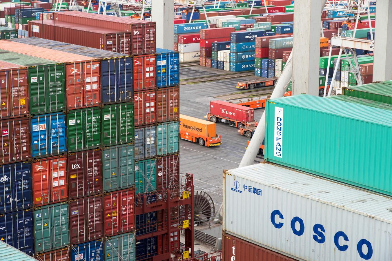 Afgedankte zeecontainers zouden met het project een nieuw leven krijgen. Afbeelding ter illustratie.