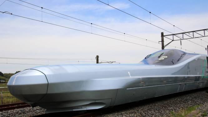 Snelste kogeltrein ter wereld moet vanaf 2030 over de Japanse sporen razen