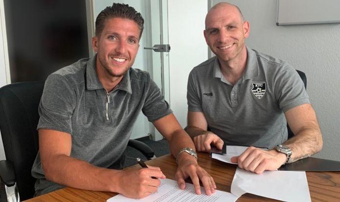 Peter van Ooijen ondertekent een tweejarig contract bij KFC Uerdingen 05.