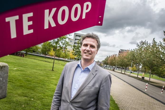 """Voorzitter Steven Elst van de NVM Twente: """"Het aanbod koopwoningen slinkt snel.""""m"""