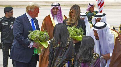 Trump en Saoedi's sluiten akkoord over gigantische wapendeal van 100 miljard