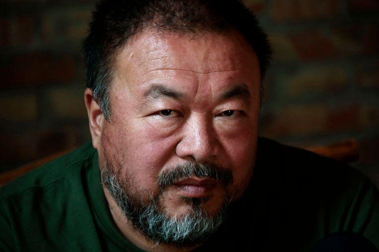 Ai Weiwei. Beeld reuters