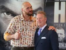Tyson Fury zit weer op gewicht: van 170 naar 115 kilo