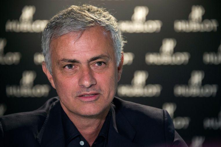 Jose Mourinho Beeld AFP