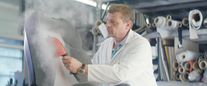De huidige productie van autostoelen bij Ford.