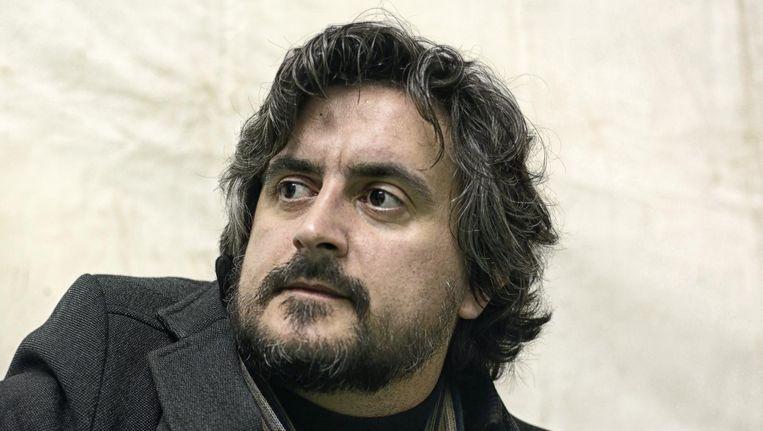 Pedro da Silva Martins van de band Deolinda. Beeld Samuel Aranda