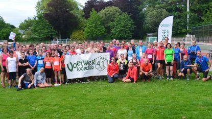 Voetweg 41 organiseert Trage Wegen Jogging