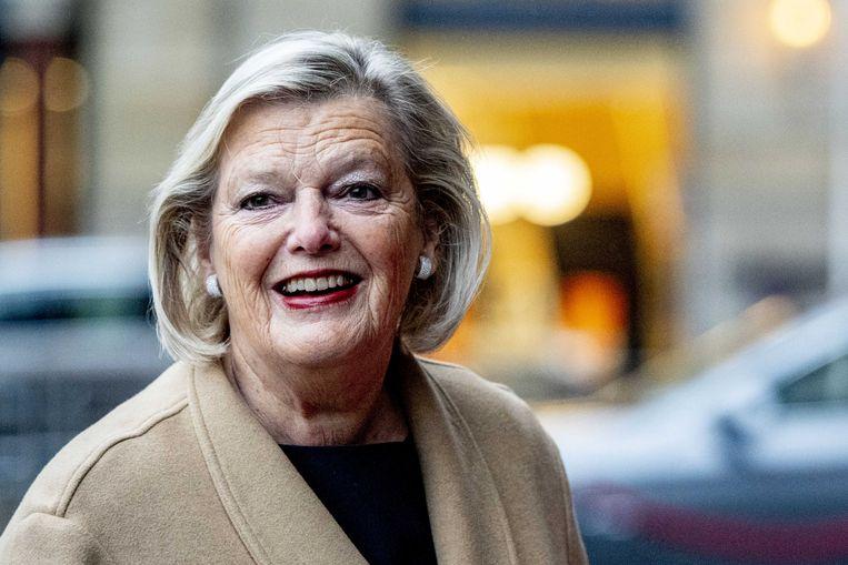 Als Nederland morgen uit het Vluchtelingenverdrag stapt, verandert er verder niets: de zoveelste domper voor staatssecretaris Ankie Broekers-Knol. Beeld ANP