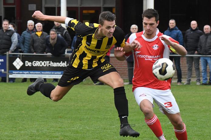 Archieffoto van Estria-verdediger Rens van Dongen