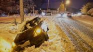 Ongevalletjes door sneeuwval blijven meestal beperkt tot blikschade