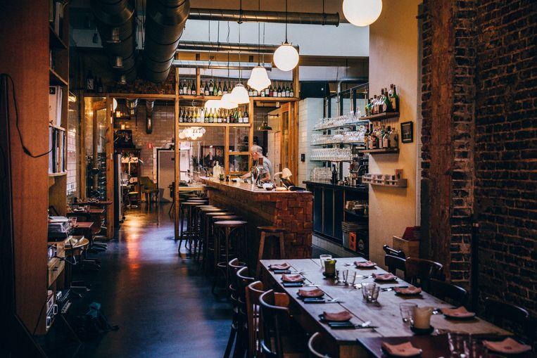 Restaurant het Gouden Hoofd in Gent.