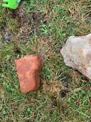 De stenen met fosfor.