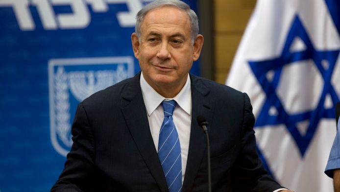 Benjamin Netanyahu Premier ministre israélien.