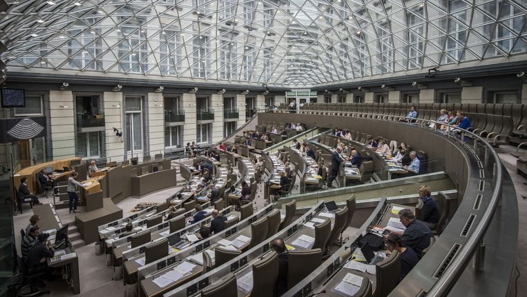 Vlaams parlement.