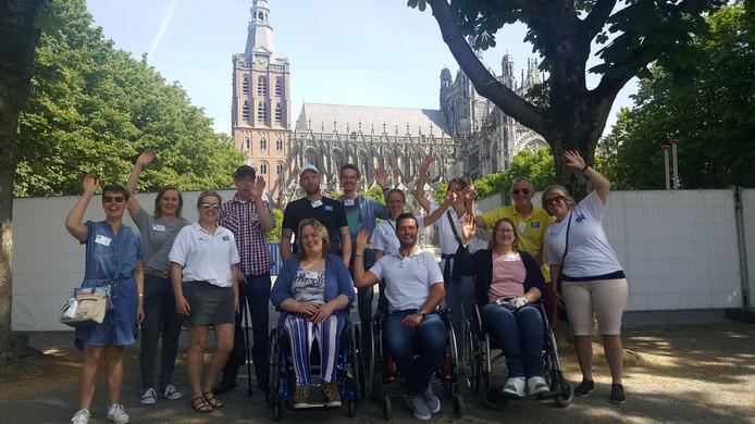 Het eerste uitstapje van Stichting Leef Jongeren in Den Bosch.